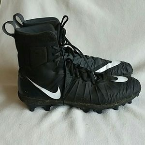 NIKE High Top Force Savage Cleats Size 13